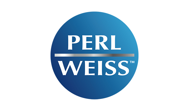 perlweiss markenlogo